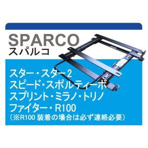 [スパルコ]S200V/S210V ハイゼットカーゴ用シートレール|unionproduce