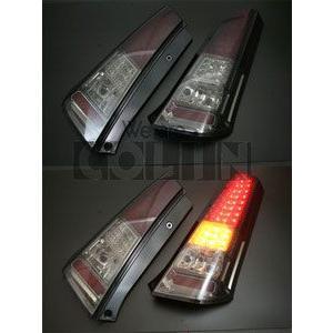 [COLIN]MH23S ワゴンRスティングレー(赤スモーク)用LEDテールランプ/ウインカー unionproduce