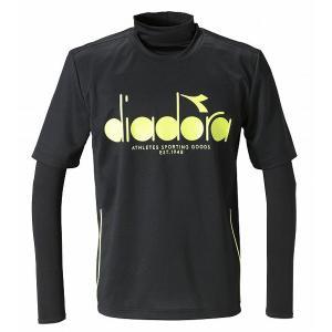 サッカーシャツ ディアドラ diadora プラクティスシャツ インナーセット ブラック dfp9510 unionspo