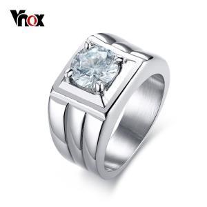 商品名  メンズ リング 指輪 316L ステンレス 結婚式 リング 指輪 爪 セッティング 大きい...