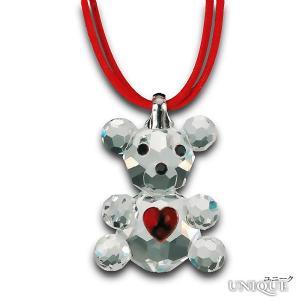 PRECIOSA 【プレシオサ】 Baby Bear 熊のペンダント (クリスタル色) ★ Pendant ★ 【20%OFF】|unique-world
