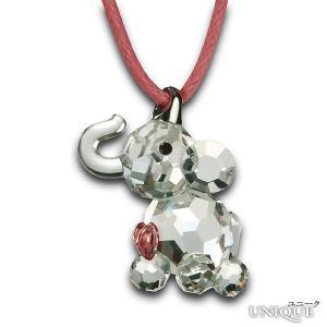PRECIOSA 【プレシオサ】 Elephant Calf 象のペンダント (クリスタル色) ★ Pendant ★ 【20%OFF】|unique-world