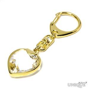 PRECIOSA 【プレシオサ】 Keyring with Heart ハートキーリング (クリスタル色) ★ Keyring with Heart ★ 【20%OFF】|unique-world