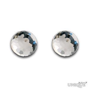 PRECIOSA 【プレシオサ】 Mystic Bead ピアス (シルバー925使用 クリスタル色) ★ Earrings Ag925 - Crystal ★ 【20%OFF】|unique-world