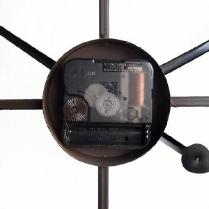 アイアン 壁掛け 時計 シャビー アンティーク レトロ インダストリアル|uniroyal|06