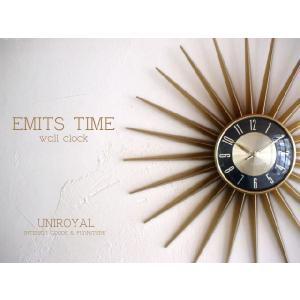 EMITS TIME(壁掛け時計) uniroyal