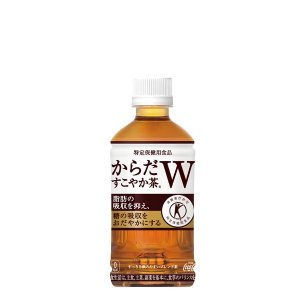 日本初、1本で2つの働きをもつ特定保健用食品の無糖茶 植物由来の食物繊維の働きにより、脂肪の吸収を抑...