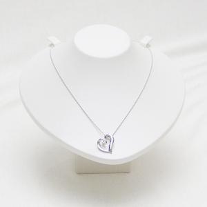 業務用(撮影用)ディスプレイ ネックレススタンド トルソー型(ホワイト) united-jewellery