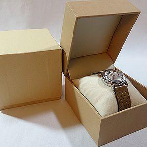 【即納】腕時計専用のコレクションケース ソフトレザー高級ウォッチケース(ベージュ)|united-jewellery