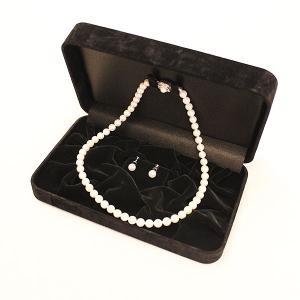 スエード調高級ジュエリーケース(ネックレス・イヤリング専用) united-jewellery