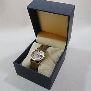 【即納】腕時計専用のコレクションケース ソフトレザー高級ウォッチケース(ダークブルー)|united-jewellery