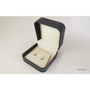 【即納】手触りバツグンの本格高級仕様のピアスケース(ダークブルー)|united-jewellery|02