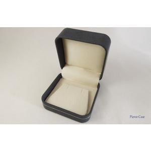 【即納】手触りバツグンの本格高級仕様のピアスケース(ダークブルー)|united-jewellery|03