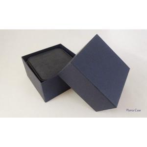【即納】手触りバツグンの本格高級仕様のピアスケース(ダークブルー)|united-jewellery|05