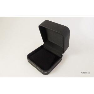 【即納】手触りバツグンの本格高級仕様のピアスケース(ブラック) united-jewellery 03