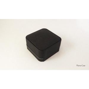 【即納】手触りバツグンの本格高級仕様のピアスケース(ブラック) united-jewellery 04