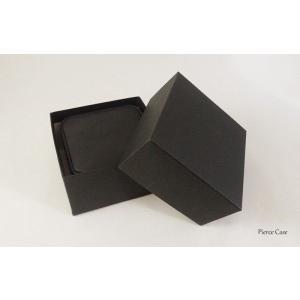 【即納】手触りバツグンの本格高級仕様のピアスケース(ブラック) united-jewellery 05