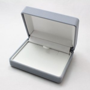 ネックレスが収納できるペンダント専用ジュエリーケース(グレー)|united-jewellery