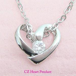 【即納】プレゼントにオススメのオープンハートペンダントネックレス メール便可|united-jewellery