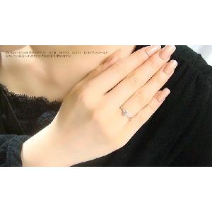 高級感溢れるSIクラスの大粒天然ダイヤモンドのK18ホワイトゴールド製リング 送料無料|united-jewellery|04