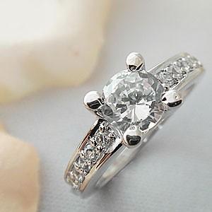 ダイヤモンドに負けない輝きのお姫様リング メール便可|united-jewellery
