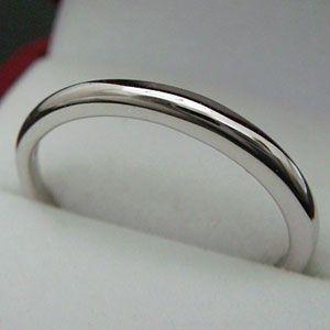 オールシルバーのシンプルなシルバーペアリング(男女兼用の指輪)メール便可 united-jewellery
