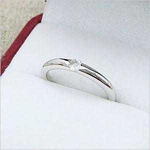 ワンポイントシンプルデザインリングシリーズ ブルームーンストーンリング メール便可 united-jewellery