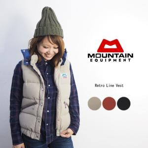 MOUNTAIN EQUIPMENT マウンテンイクイップメント レトロラインベスト 422325