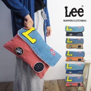 Lee リー WAPPEN CLUTCHBAG クラッチバッグLA0111