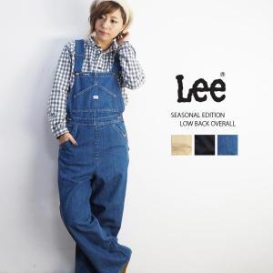 リー Lee レディース オーバーオール サロペット デニム...