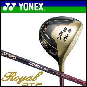 ヨネックスゴルフ YONEX GOLF ハイブリッドフェアウェイ Royal DTP ロイヤルDTP オリジナル カーボン シャフト|unitedcorrs