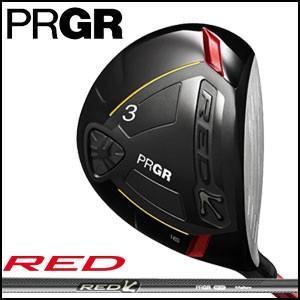 プロギア PRGR メンズ ゴルフ クラブ RED FAIRWAY WOOD RED フェアウェイ ウッド オリジナル カーボン シャフト|unitedcorrs