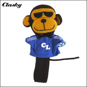 クラスキー clasky ゴルフ T-SH MONKEY HEADCOVER モンキーヘッドカバー ドライバー用 CL170407 あすつく|unitedcorrs