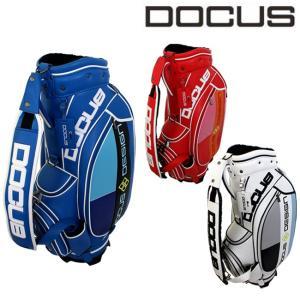 ドゥーカス スタイリッシュ キャディバッグ 9インチ メンズ レディース 大人 かっこいい おしゃれ 大容量 ゴルフ バッグ DOCUS DCC741 ユナイテッドコア|unitedcorrs