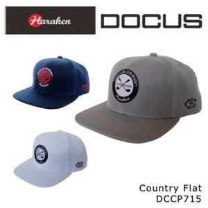 ドゥーカス キャップ メンズ 大人 クール かっこいい おしゃれ ゴルフ キャップ アジャスタブル DOCUS Country Flat DCCP715 コアーズ店|unitedcorrs