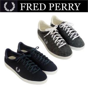 フレッドペリー FRED PERRY シューズ BREAUX WOOL F29637 ユニセックス ...