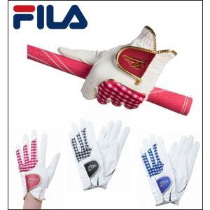春夏 FILA GOLF フィラ ゴルフ レディース ゴルフ グローブ 片手用 左手用 FIG105 2017|unitedcorrs