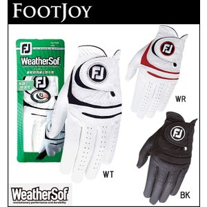 メール便対応 FOOTJOY フットジョイ メンズ ゴルフ グローブ WeatherSof ウェザーソフ 左手用・右手用 FGWF15 FGWF5LH|unitedcorrs