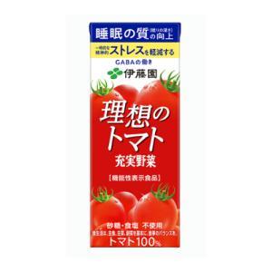 伊藤園 理想のトマト 200ml 紙パック24本入