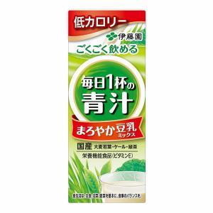伊藤園 毎日1杯の青汁 まろやか豆乳ミックス  200ml 24本