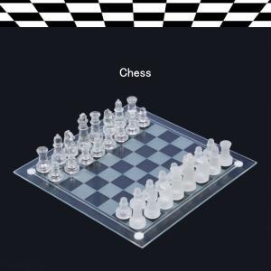・セット内容:チェス、メーカー保証書 ・サイズ:25×25cm ・材質:クリスタルガラス ・華麗にチ...