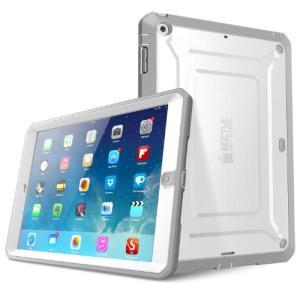SupCase Beetle Defense iPad Air TPU 2層 ハードケース ホワイト×グレー universalmart