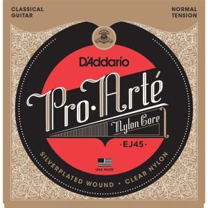D'Addario ダダリオ クラシックギター弦 プロアルテ Silver/Clear Normal EJ45 【国内正規品】 unliminet