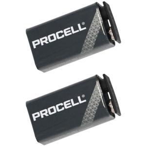 DURACELL PROCELL デュラセル プロセル 9V角電池 エフェクター/楽器用アルカリ電池...