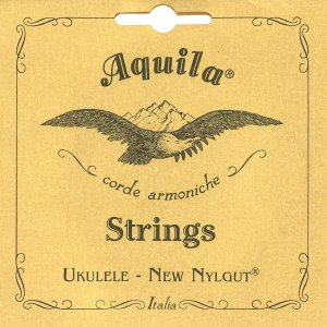 Aquila ウクレレ弦 ナイルガット ソプラノ用 60cm AQ-SR 4U