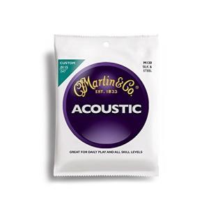 Martin アコースティックギター弦 ACOUSTIC (Silk&Steel Folk) M-130 Traditional .011-.047|unliminet