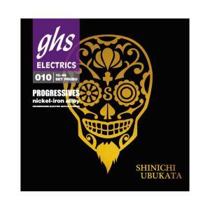 GHS PRUBU PROGRESSIVE UBUKATA SIGNATURE 10-46 エレキギター弦|unliminet