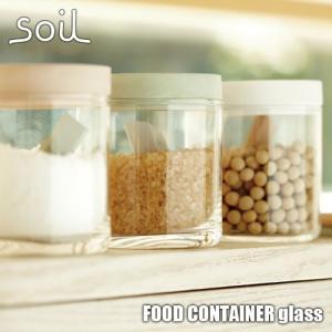 soil/ソイル FOOD CONTAINER glass「フードコンテナーグラス」JIS-K117...