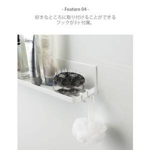 tower/タワー(山崎実業) マグネットバスルームラック ロング 60 MAGNET BATHROOM RACK WIDE 60 浴室収納/浴室棚/バスルームラック/バスルーム収納|unlimit|05