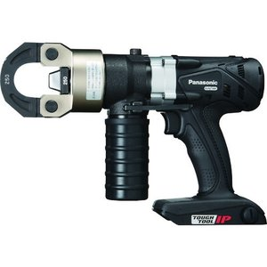 (油圧式圧着工具)Panasonic 充電圧着器 EZ46A4K-B|unoonline